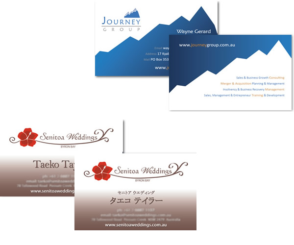 Wedding Flowers by Mika Brochure design Business Cards