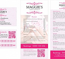 Brisbane Graphic Design: Flyer, Business Card / Loyalty Card