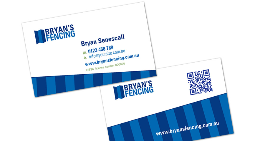 Brisbane Business Card Design with QR Code by Sumico Net