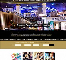 Web Design Portfolio | Diggers Services Club in Logan