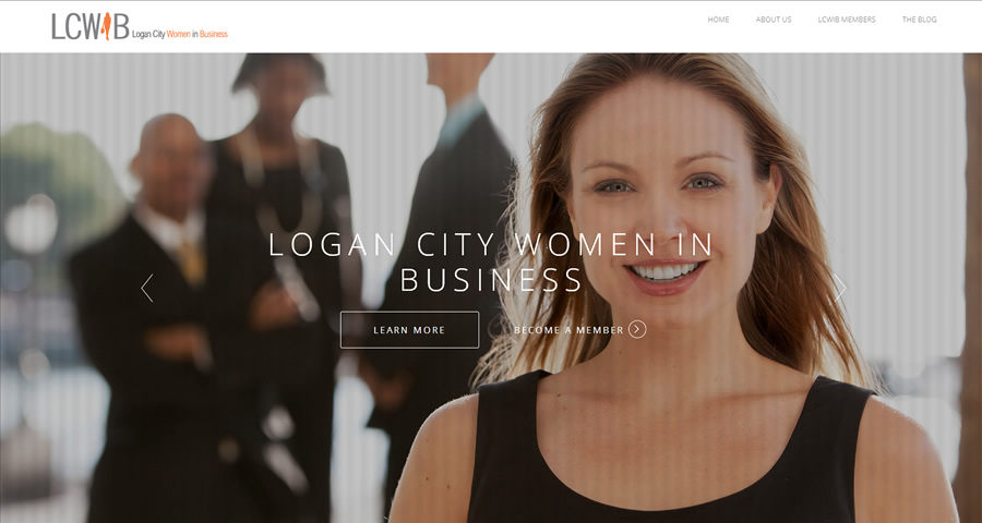 Logan City Women In Business Website by Sumico Net
